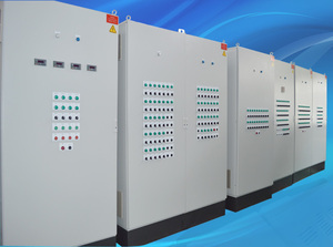 Pure water treatment control cabinet
